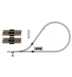 Fleischmann 6199 - Zestaw torów oraz złączek do pętli zwrotnej