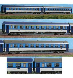 """ACME AC55192 - Zestaw 2 wagonów pasażerskich Apee+Bpee CD """"Najbrt"""", ep.VI"""