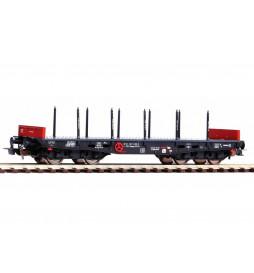 Piko 58417 - Wagon platforma z kłonicami 401Ze Rmmps (PPzk) PKP, ep. IV