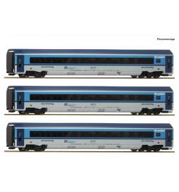 Roco 74139 - Zestaw 3 wagonów Railjet CD