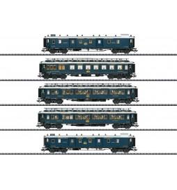 Trix 23219 - Zestaw 5 wagonów Simplon Orient Express, SET 1, DCC z dźwiękiem i oświetleniem