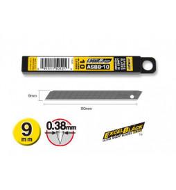 OLFA ASBB-10 - Zapasowe ostrza do noży segmentowych 9mm