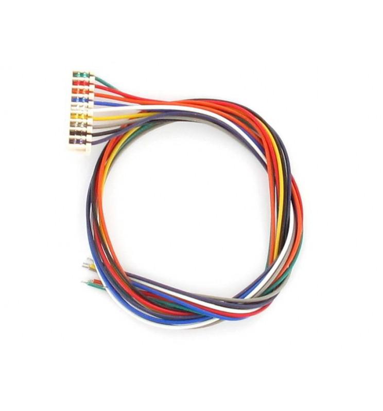 Lenz 80011 - LY011 Kabel ze złączem JST do dekoderów (9 przewodów)