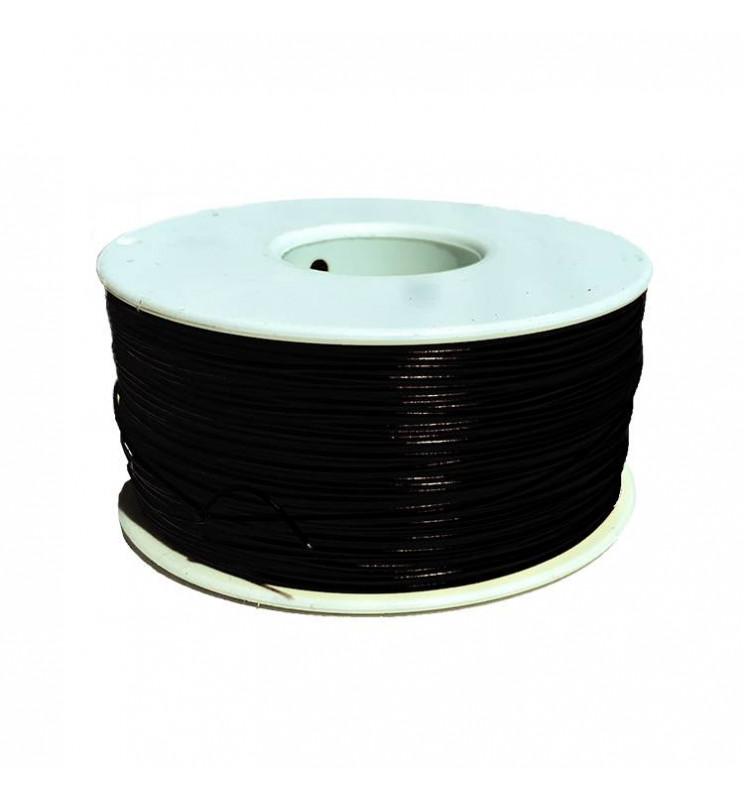 Digikeijs DR60077 - Izolowana linka miedziana 1.0mm / 0,14mm2 CZARNY - 1metr