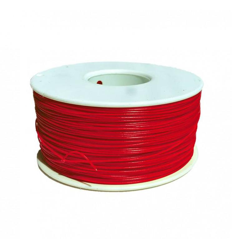 Digikeijs DR60376 - Cienki i elastyczny przewód do dekoderów, AWG30 0,21mm/0,58mm, CZERWONY 1m