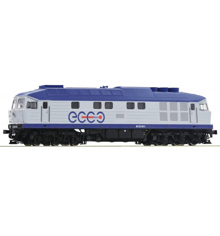 Roco 52467 - Lokomotywa spalinowa BR232 Ecco Rail, DCC z dźwiękiem