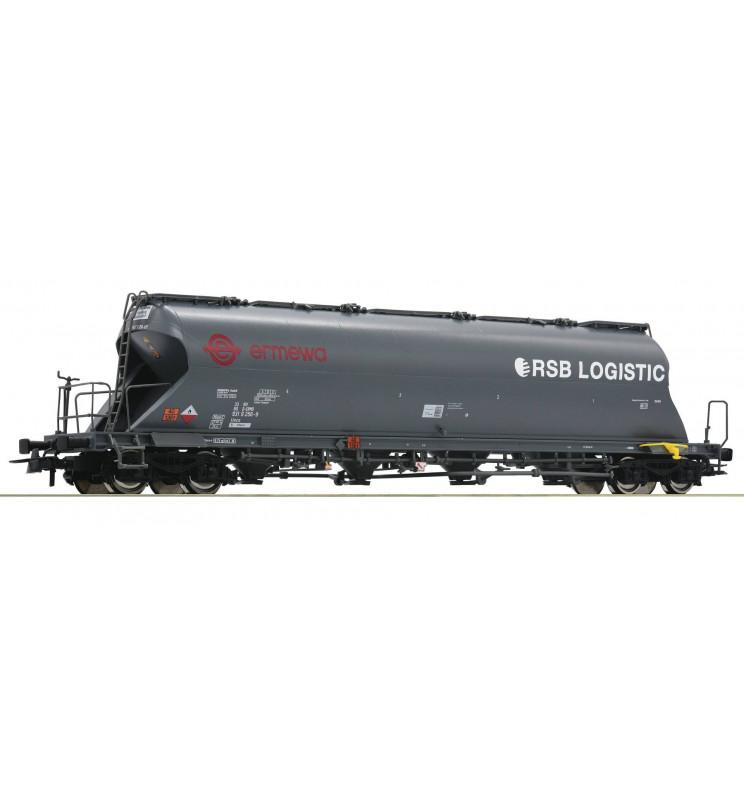 Roco 76707 - Wagon silos do materiałów sypkich ERMEWA, RSB-Logistic
