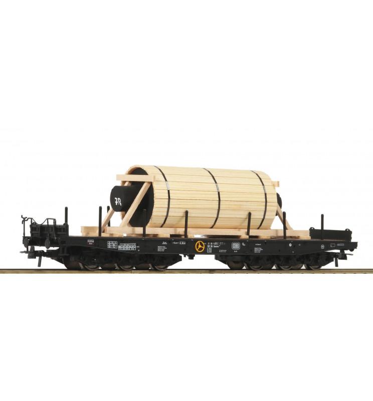 Roco 76826 - Ciężka platforma 6-cioosiowa DB
