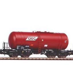 Piko 58361B - Wagon cysterna Zas (406R) DEC PKP, ep VI