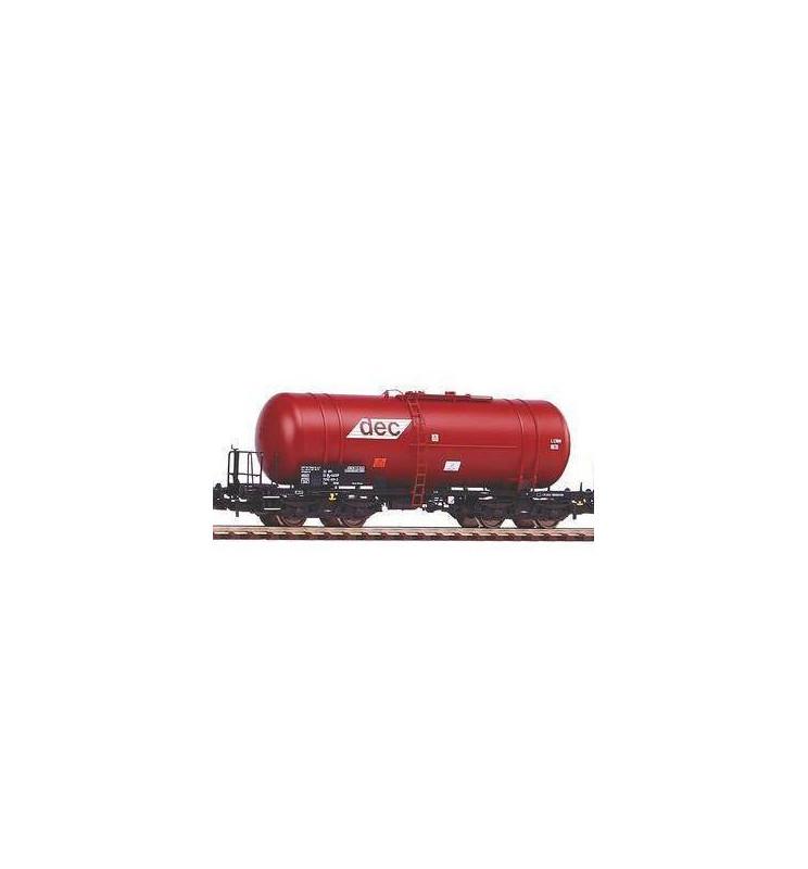 Piko 58361 - Zestaw 3 wagonów cystern Zas (406R) DEC PKP