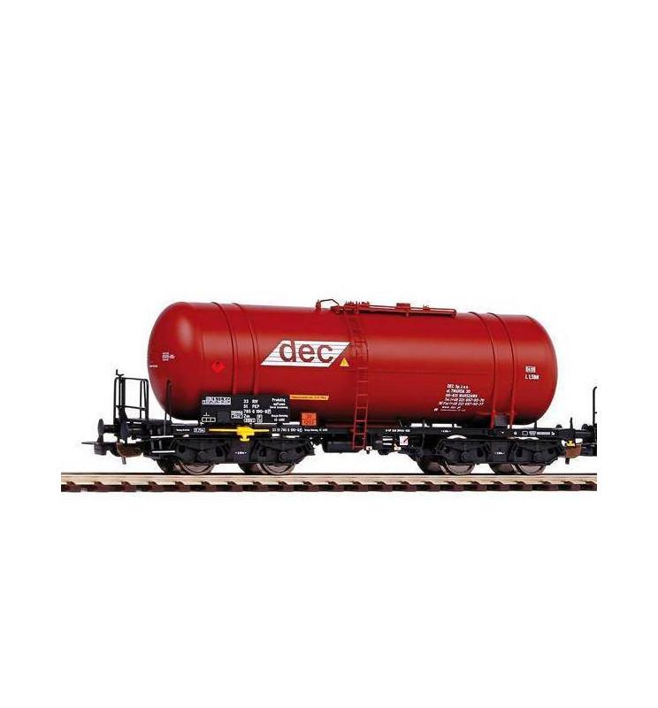 Piko 58370A - Wagon cysterna Zas (406R) DEC PKP, ep V
