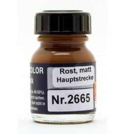 Weinert 2665 - Farba modelarska do malowania torów, ciemna rdza, matowa