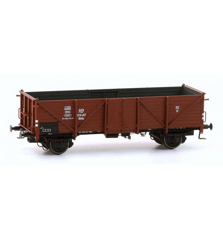 Exact-train EX20344 - Wagon towarowy odkryty Omm34 Klagenfurt, 359 487 Wddo PKP, Ep. III