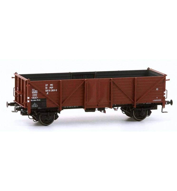 Exact-train EX20345 - Wagon towarowy odkryty Klagenfurt, 27 51 501 6 263-2 .E PKP, Ep. IV