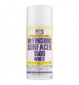 Mr.Hobby B-529 - Mr.Finishing Surfacer 1500 White, szpachlówko-podkład biały