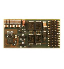 D&H SD22A-3 - Dekoder jazdy i dźwięku DCC/SX/MM 11 kabli bez wtyczki
