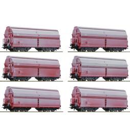 Roco 75938 - Zestaw 12 wagonów samowyladowczych DB-AG, fabrycznie patynowanych