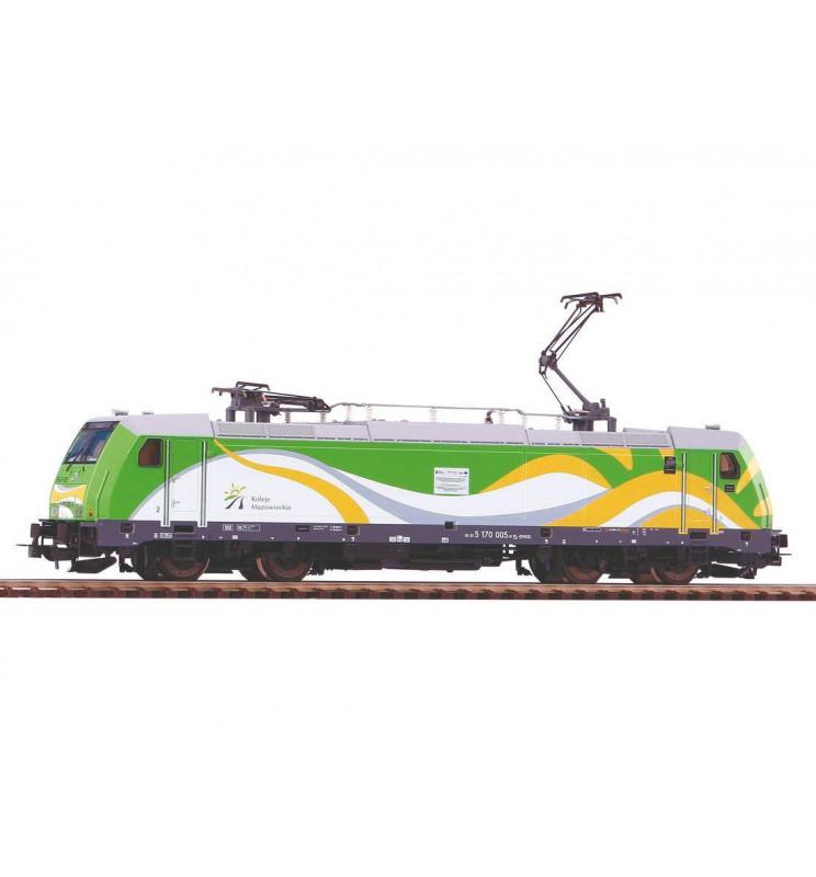 Piko 59153ES - Elektrowóz TRAXX 146.2 Koleje Mazowieckie, DCC z dźwiękiem