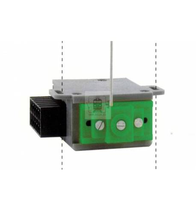 MTB-Model MP6 - Napęd podmakietowy z polaryzacją do rozjazdów