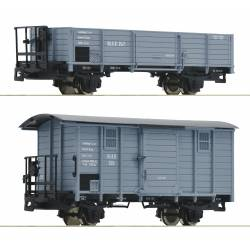 Roco 34559 - 2 piece set: Boxcars