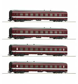 """Roco 74109 - Zestaw 4 wagonów pociągu """"Le Capitole"""""""
