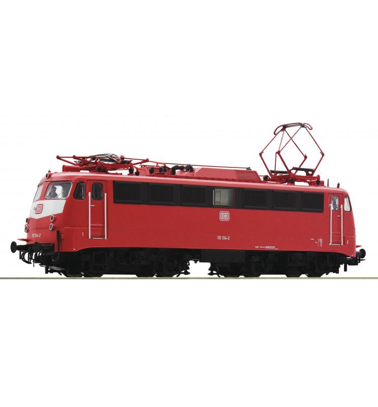 Roco 73073 - Elektrowóz 110 291-2 DB, DCC z dźwiękiem