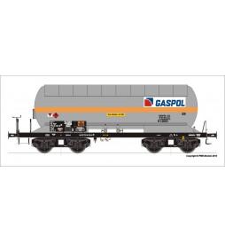 Tillig TT 501920 - 4-osiowy wagon cysterna Zagk GASPOL, PKP ep. Vc, skala TT