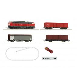 Roco 51312 - Cyfrowy zestaw startowy z z21® start, lokomotywą BR218 oraz pociągiem towarowym