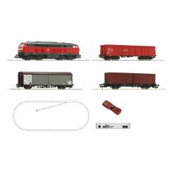 Roco 51312 - z21® start Digitalset: Diesel locomotive class 218 with wagon train