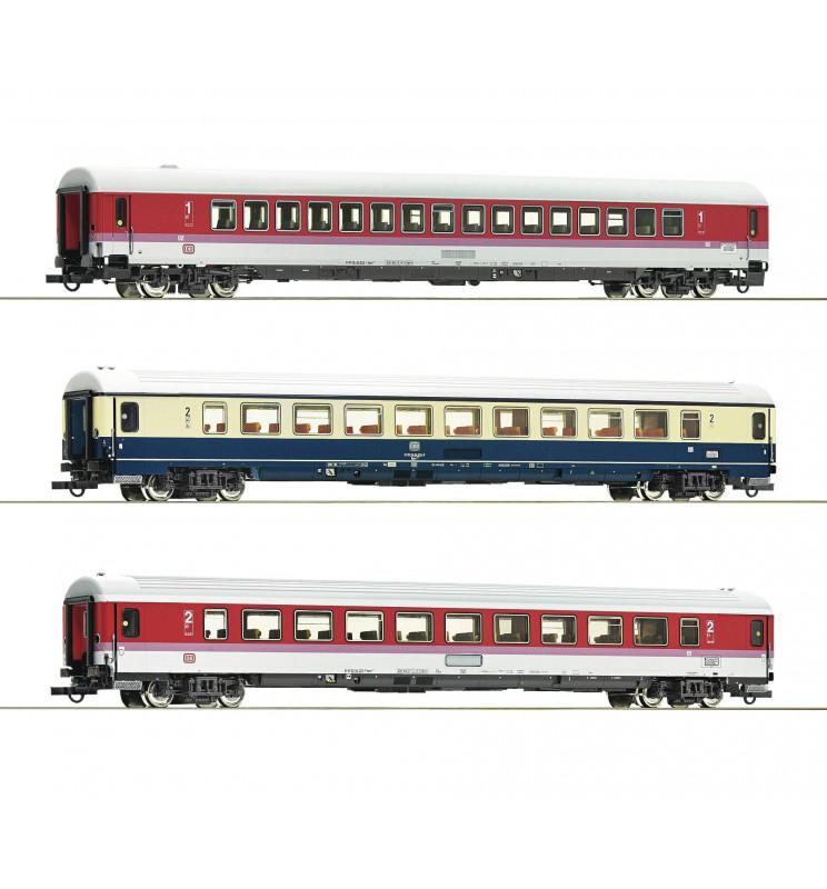 Roco 74134 - Zestaw 3 wagonów pociągu EC Leonardo da Vinci (zestaw 2)