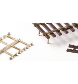 Weinert 74019 - Złączki szynowe z odlanymi śrubami do mocowania szyn na końcach modułów