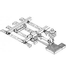 Weinert 72321 - Latarnia zwrotnicowa podświetlana wraz z napędem zwrotnicowym do torów MeinGleis Code 75