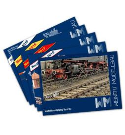 Weinert 0001 - Katalog główny Weinert 2014 + zestaw broszur z nowościami 2015-2019