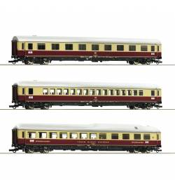 "Roco 74135 - 3 piece set 1: Passenger cars ""Rheingold"" DB"