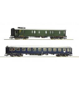 Roco 74098 - 2 piece set: Fast train cars DB