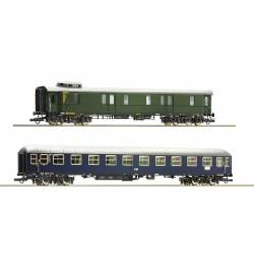 Roco 74098 - Zestaw 2 wagonów pociągu pospiesznego DB, ep. III