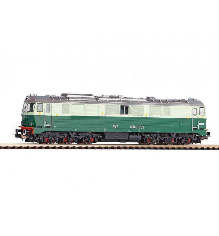 Piko 52861 - Lokomotywa spalinowa SU46-039 PKP, ep. IV, wersja AC
