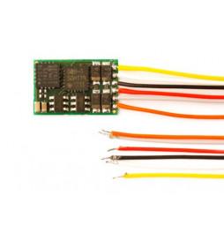Dekoder DCC/SX/MM jazdy i oświeltenia D&H DH10C-3 6-przewodów