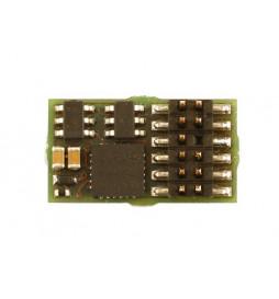 Dekoder DCC/SX/MM jazdy i oświeltenia D&H DH12A PluX12 12-pin