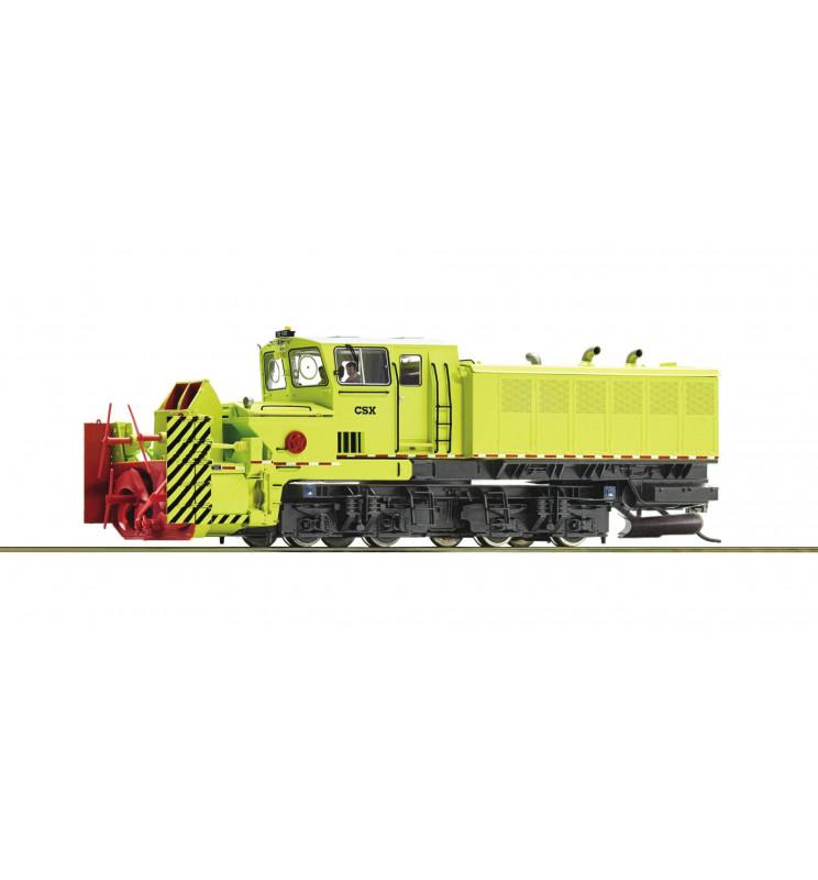 Roco 72803 - Pług śnieżny rotacyjny Beilhack, CSX, DCC z dźwiękiem i obracanym wirnikiem