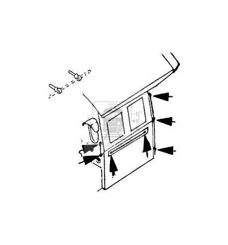 Weinert 8461 - Uchwyty kulowe z otworem 0,3mm (20szt)