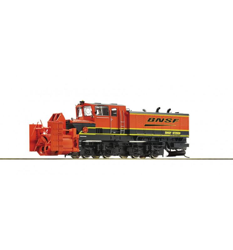 Roco 72806 - Pług śnieżny rotacyjny Beilhack, BSNF, DCC z dźwiękiem i obracanym wirnikiem