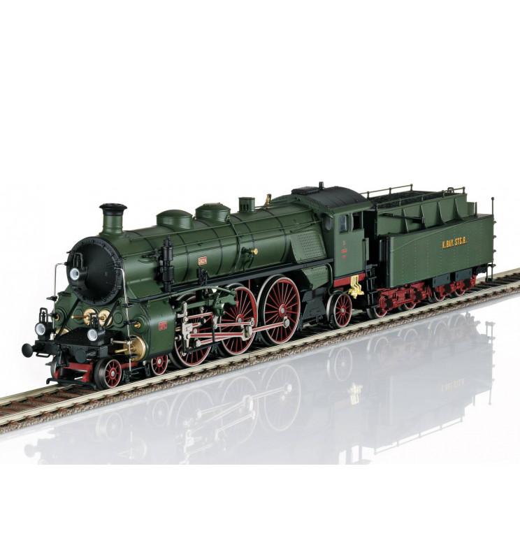Trix 22913 - Parowóz ekspresowy EST Class 13 Orient Express, DCC z dźwiękiem i generatorem dymu