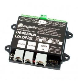 Digikeijs DR4088LN-OPTO - 16-kanałowy moduł informacji zwrotnej s88N z interfejsem Roco R-BUS