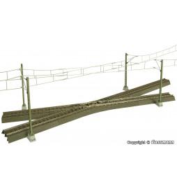 Viessmann 4145 - H0 drut jezdny do krzyżowania sieci trakcyjnej