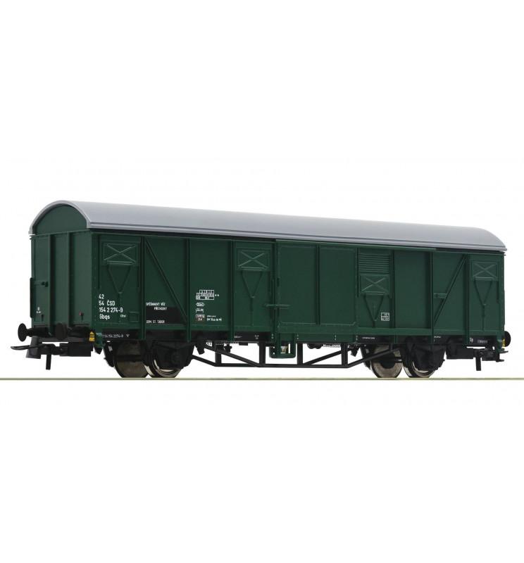 Roco 67614 - Wagon kryty Gbqs CSD, ep. IV