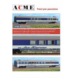 ACME 52366 - Wagon restauracujny DB WRkmz, Jan Kiepura