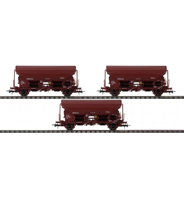 Roco 76177 - Zestaw 3 wagonów samowyładowczych ZSSK