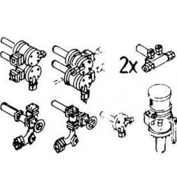 Weinert 8206 - Zestaw zaworów armatury kotła do BR 78