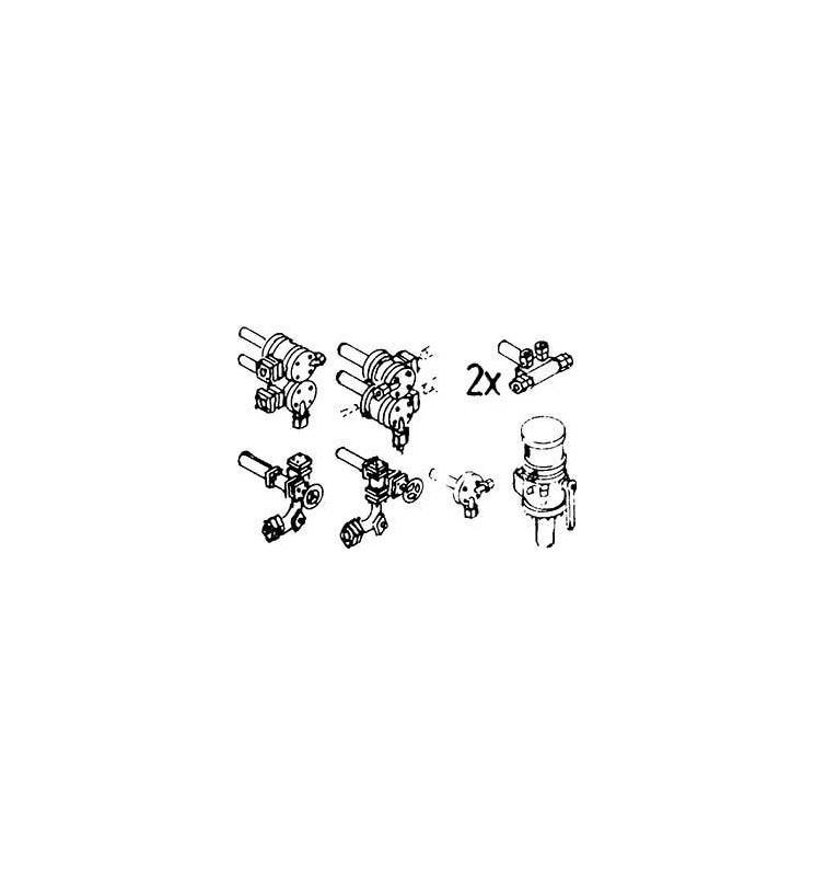Weinert 8206 - Zestaw zaworów armatury kotła do BR 38.10 i BR 78 (2szt)